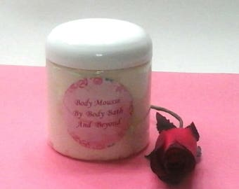 Body Mousse / Whipped Body Butter / Body Butter / Body Cream / Body Lotion / All Natural Moisturizer
