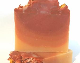Blood Orange and Goji Artisian Handmade Soap