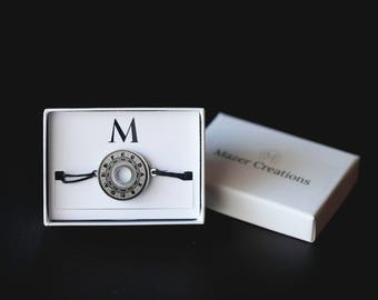 Circle of Fifths Washer Bracelet | Resin Coated