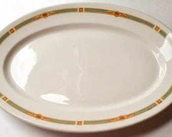 Restaurant Platter from the St. Francis Hotel, Syracuse Restaurant Ware, Restaurantware