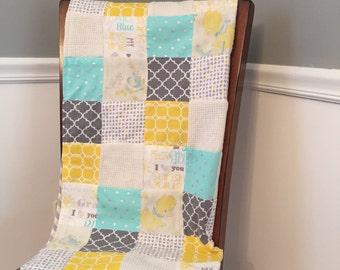 Baby Memory Quilt Blanket