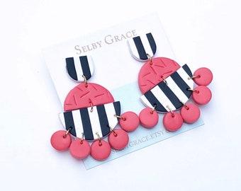 Bella Princess Stripe Red