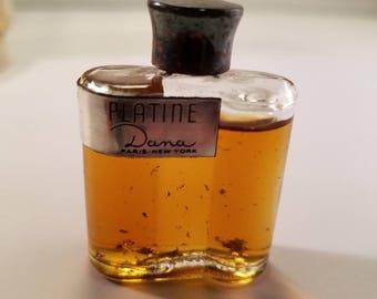 Vintage 1950's Dana Plantine Perfume 0.25 oz