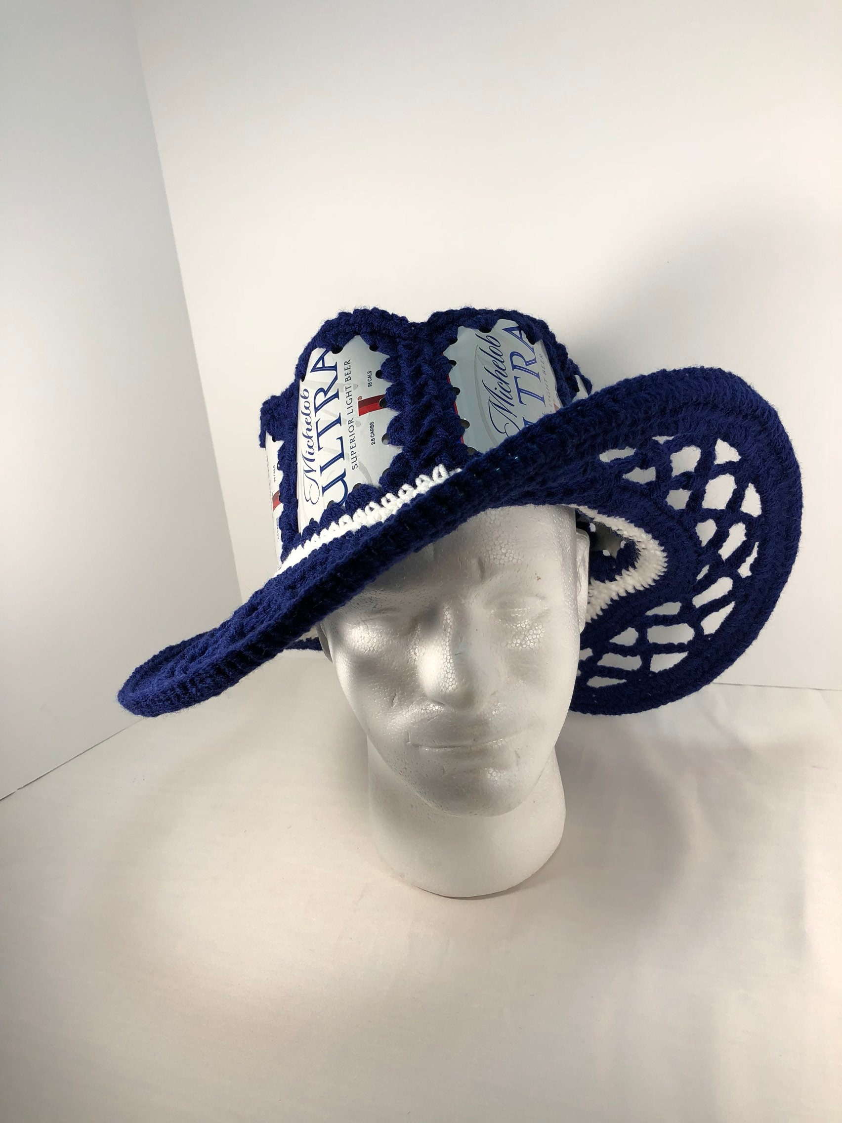 Beer hat beer can hat michelob ultra hat crochet beer can jpg 1704x2272 Michelob  beer can 4b373bbefdcd