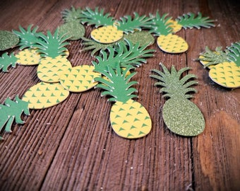 pineapple party decor, luau party decorations, Hawaiian luau, Hawaiian party, gold pineapples, tiki party,  tropical party, tropical wedding