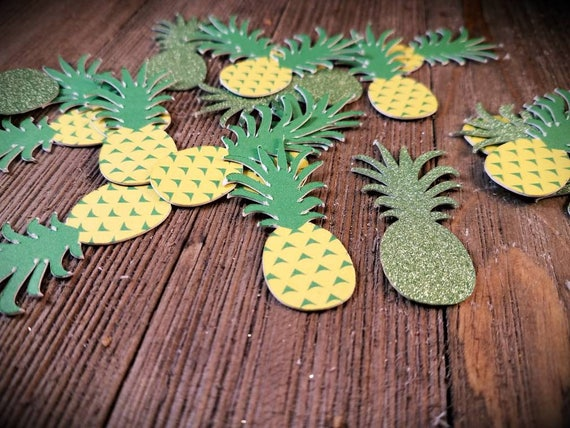 pineapple party decor luau party decorations Hawaiian luau Hawaiian party gold pineapples tiki party tropical party tropical wedding from ... & pineapple party decor luau party decorations Hawaiian luau ...