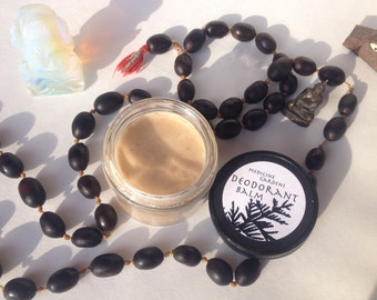 deodorant balm made with cedar & myrrh