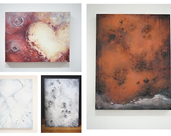 Astro Print 4 pack (signed by artist) - 8' x 10'
