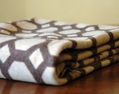 1930s Vintage Wool Blanket // The Honeycomb