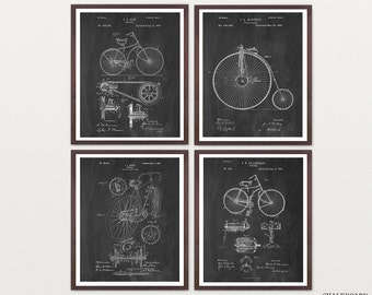 Bicycle Patent Art - Bicycle Poster - Vintage Bicycle - Velocipede - Bike Patent - Bike Art - Bike Poster - Bicycles - Bicycle Patent Art