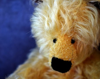 Gwri - A Handmade Old Soul Teddy Bear - OOAK Earth Angel Bear