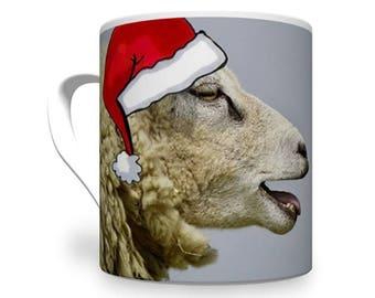 Baa Humbug Mug. Secret Santa Gift.