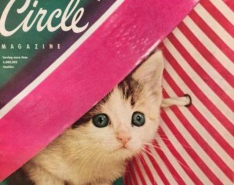 Vintage Family Circle Magazine 1955 Easter Fashion Vintage Ads