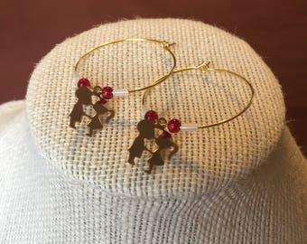 Valentines Sweetheart Earrings