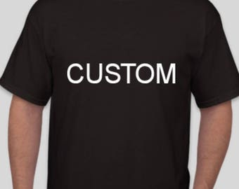 We make you a custom shirt