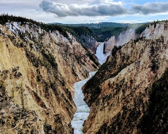 Grand Canyon of the Yellowstone, #YellowStone National Park #Wyoming