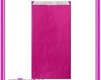 lot 25 pouches bags bags envelopes kraft 7 x 12 hot pink