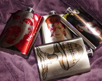 CUSTOM FLASK Your Image Your Picture Your Flask Stainless Steel