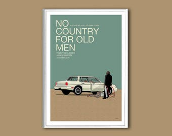 No Country for Old Men movie poster print in various sizes