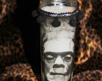 Frankenstein Classic Horror Kitschy Kandle - Prayer Candle