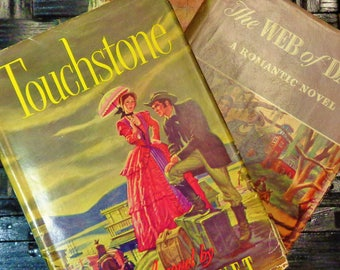 THREE (3) Romantic Novels From the 1940's