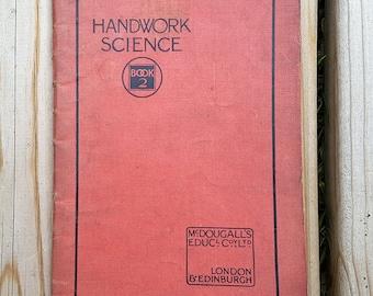 Vintage Book Handwork Science Book 2 Mcdougall's