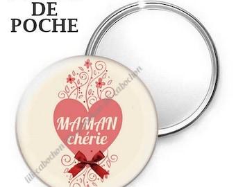 Mirror - badge - 56mm - mother