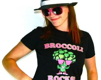 Broccoli Rocks t shirt - American Apparel