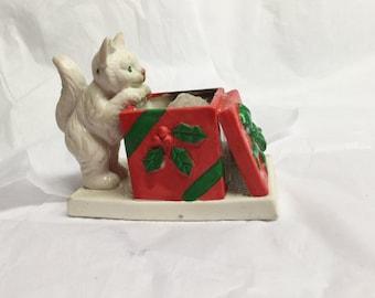House of Lloyd - Curious Kitten Box Poup - 1989