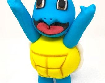 Squirtle inspired Pokemon Cake Topper