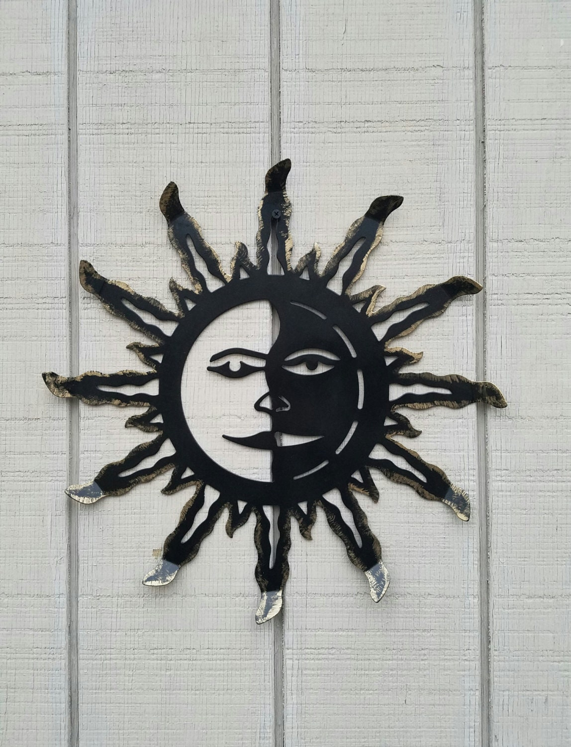 Metal Sun Wall Art Metal Wall Art Metal Sun Decor Sun Wall Hanging Metal Wall