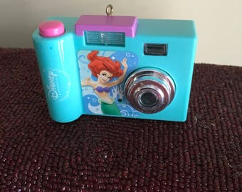 Kids Toy Camera Little Mermaid  Recycled Christmas  Ornament