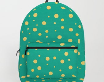 Gold Dots Backpack