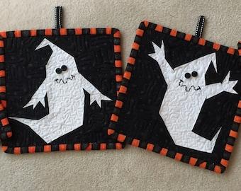 FREE Paper Pieced Halloween Block Patterns