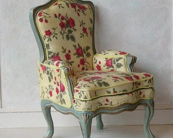 Miniature French arm chair