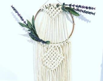 Macrame Hoop Wall Hanging, Hoop Wreath, Macrame Hoop Wreath, Macrame Wreath, Dream Catcher, Macrame Hanging, Wall Hanging