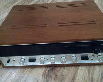 Vintage Sansui 5000a receiver , super clean, tested, sounds great. Mid Century Modern