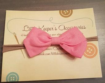 Light pink nylon style