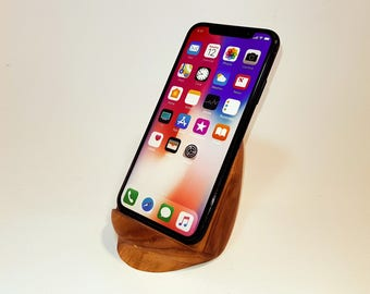 iPhone stand.smartphone stand.burning.burning wood.phone stand.office accesories.Wood iPhone stand.phone pad.iPhone pad. apple stand
