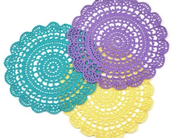 First-Timer Doily - PDF Crochet Pattern - Instant Download