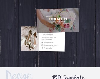 Photography business card template photoshop template photo photography business card template wedding photography business card template photoshop template photography marketing accmission Images