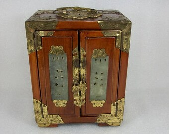 Chinese jewelry box Etsy