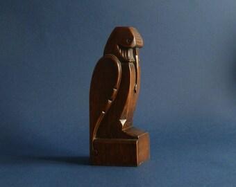 Amsterdam school bird sculpture