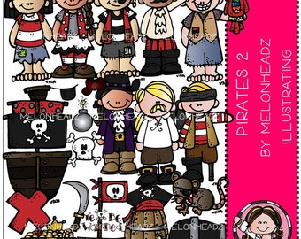 Pirates clip art Part 2 - Combo Pack