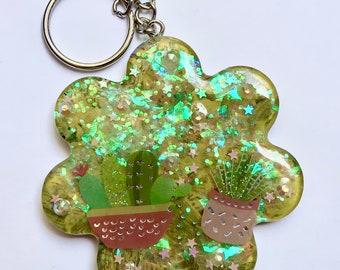 Green Cactus Flower