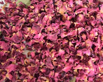 Wedding Confetti for 50 guests, Biodegradable Rose Petals, Wedding Petals, Table Confetti, Eco Natural petals