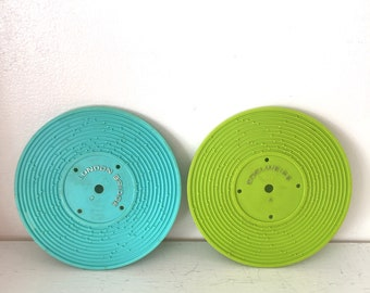 Vintage 1971 Fisher Price Records lot of 2
