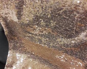 Sequin Blush Rose Gold Table Runner Various Sizes