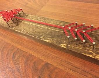 Arrow String Art - Valentines's Day String Art