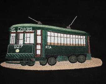 Street Car embroidery design